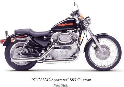 Harley Davidson 883 Sportster Custom. Sportster 883 Custom